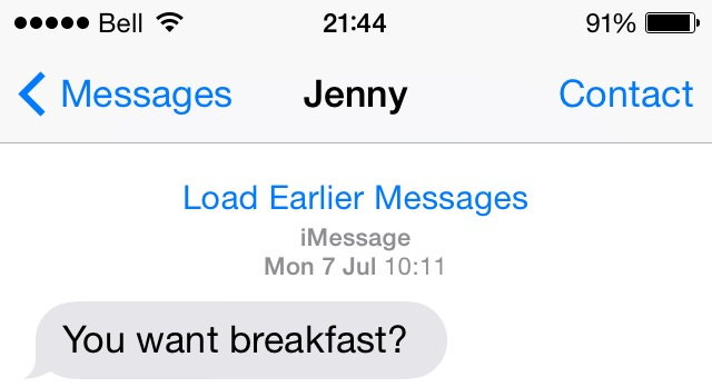 Jenny is wise and knows what is important in life.